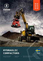 exero hydraulic compactors product sheet